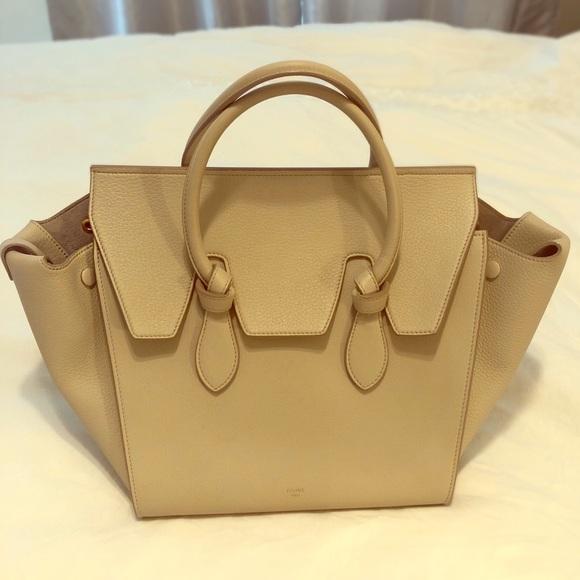 Celine Handbags - Authentic Celine tie knot tote size med